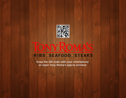 Tony Roma Smart Table Concept