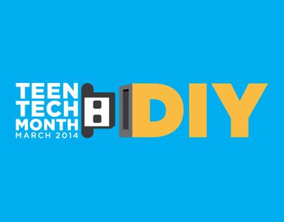 Teen Tech Month Identity