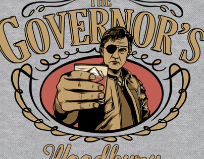 Governor's Whiskey t-shirt design