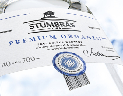 Stumbras Vodka Premium Organic