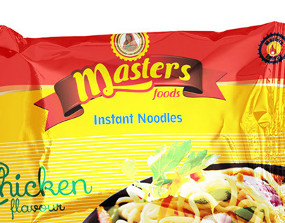 Proposed Branding presentation - Masters Food