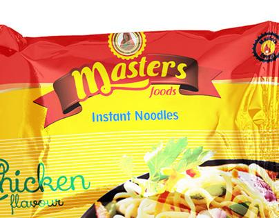Proposed Branding presentation - Masters Food