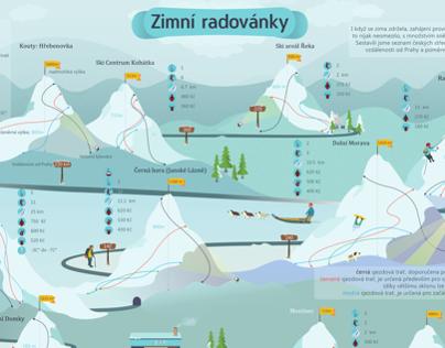 Winter Fun Infographic
