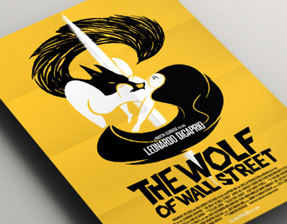 The Wolf of Wall Street - Fan art poster