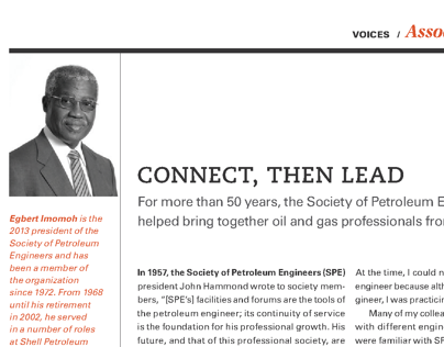Oilweek Magazine Column