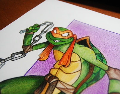 FanArt MichelAngelo Turtles Ninja