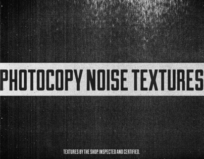 Photocopy noise texture pack