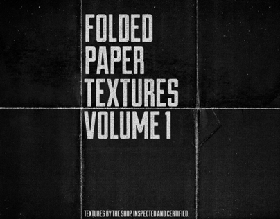 Folded paper textures, volumes I and II