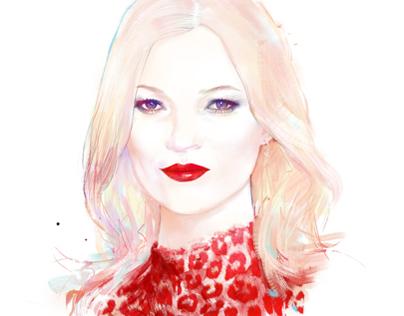 Kate Moss | The London Magazine Jan 2014