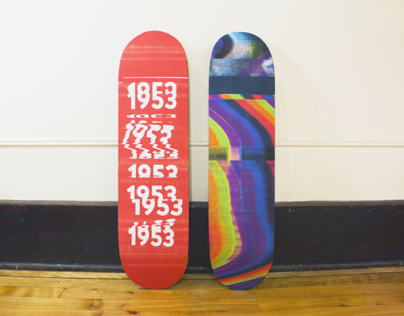 1953 Skateboards + promo products