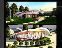 Modern Youth Center Concept