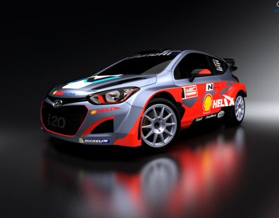 Hyundai I20 WRC 2014 Visualization