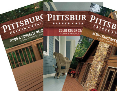 Pittsburgh Paints & Stains Brochures