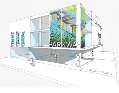 Parkway Theatre Exterior Signage