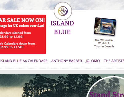 Island Blue photography. Online marketing strategy
