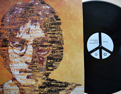 Packaging / John Lennon Live in New York City