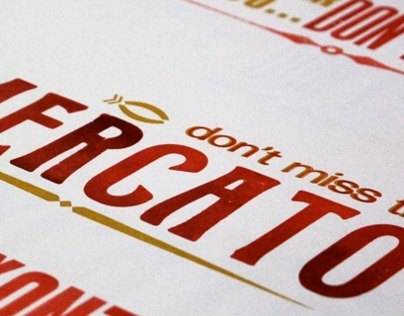Dont Miss the Mercato: Letterpress Travel Wisdom