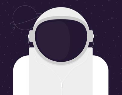Spaceman Printable Poster