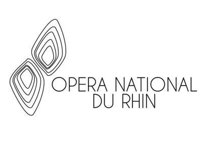 Logotype: Opéra National du Rhin