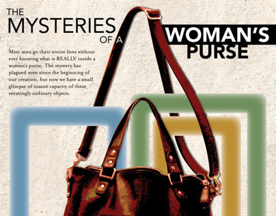 The Mysteries of a Womans Purse