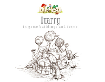 Quarry: In game buildings and items