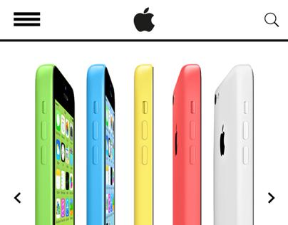 Apple Inc. Redesign - Part 01: Website