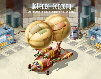 Defence Forgery: In game buildings and items