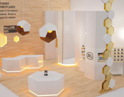 Food fair exhibition stand design