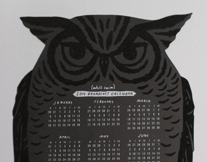 Adult Swim 2014 Broadcast Calendar