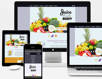 Juice Plus Body Website