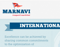 Marnavi Website Design
