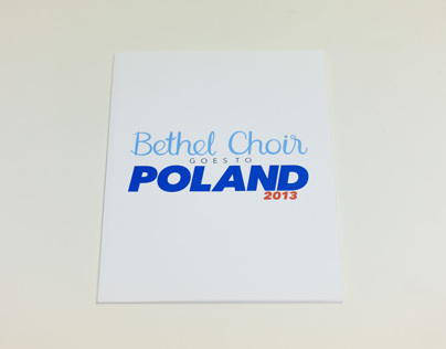 Bethel Choir Tourbook