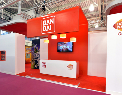 Bandai - Toy Fair London 2014 Exhibit