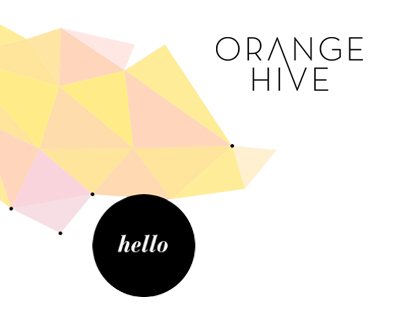 ORANGE HIVE // WEBSITE