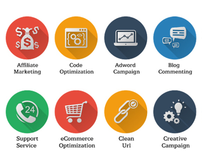 Icons -  SEO Icons and Web Icons Set  | GraphicRiver