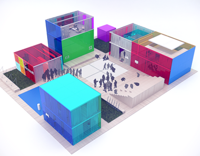 Sochi 2014. Microsoft Pavilion
