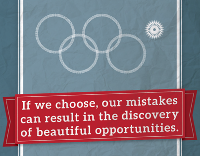 Mistakes Can Be Beautiful | Thank you, Sochi.