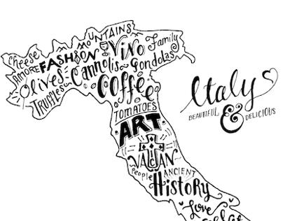 Italy - Beautiful & Delicious