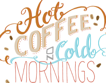 Hot Coffee On Cold Mornings