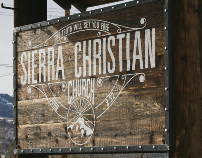 Sierra Christian Church Signage