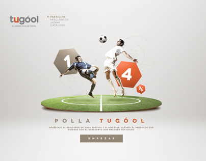 Tugó World Cup / Product Website