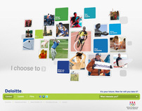 Deloitte Careers Website