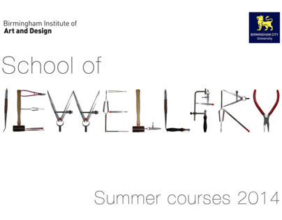 School of Jewellery BCU Summer Courses Brochure