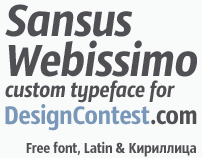 Sansus Webissimo (Typeface)