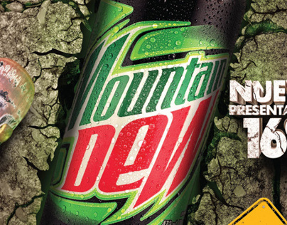 Mountain Dew - Lata 16oz