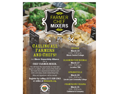 Farmer Chef Mixers - Illinois Stewardship Alliance