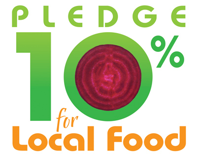 Pledge 10% for Local Food