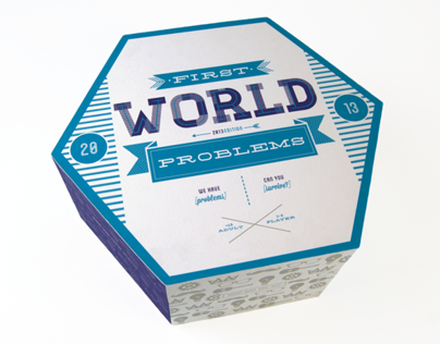 First World Problems Game Board