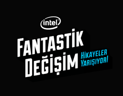 Intel Fantastik Değişim Website Materials