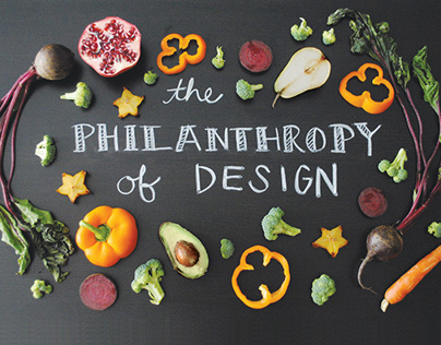 The Philanthropy of Design | postcard set